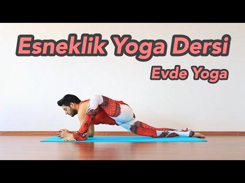 Esneklik Yoga Dersi | Evde Yoga (Her Seviyeye Uygun)