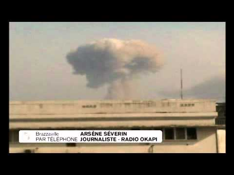 Brazzaville : explosions meurtrières dans un dépôt de munitions