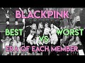 BEST vs WORST ERA: all BLACKPINK members voice over