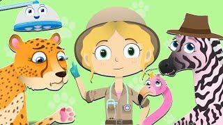 Asha Çita Ziyaret Safari | Hayvanlar Çocuklar | Evcil Hayvan Kurtarmak İçin Haşhaş Dr.