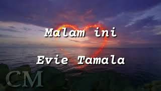 Evie Tamala - malam ini