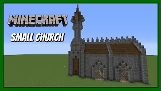 Minecraft How to build Small church tutorial YouTube