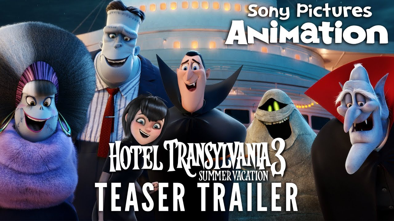 Hotel Transylvania 3 Summer Vacation Official Teaser Trailer Youtube