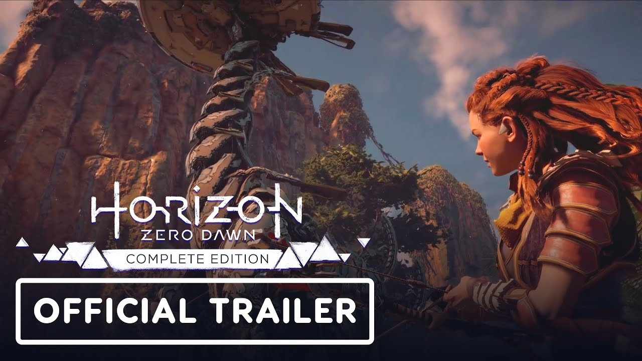 Horizon Zero Dawn Complete Edition - PC Features Trailer