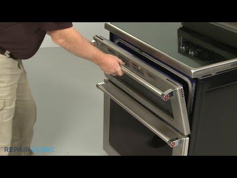 Door Handle - Kitchenaid Double Oven Electric Range #KFED500ESS02