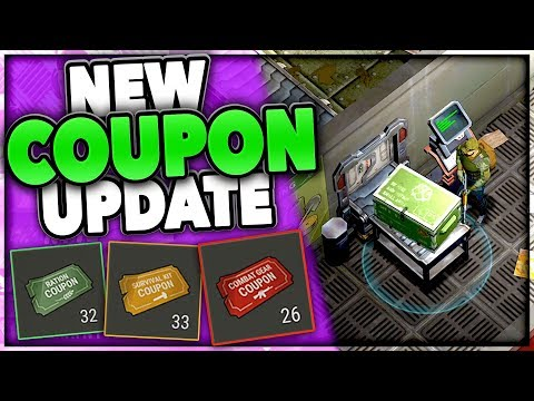 USING COUPONS NEW BUNKER LOBBY // Last Day on Earth 1.5.6 iOS
