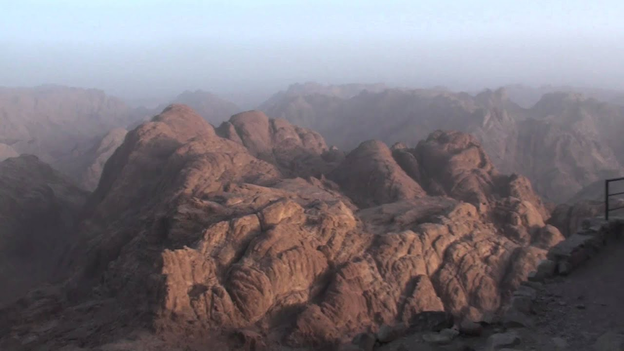 Exploring Mount Sinai Summit - Egypt - YouTube