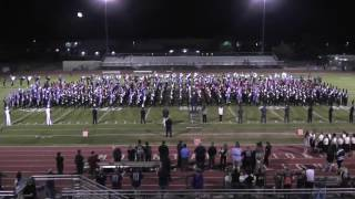 dvusd combined marching band 2016 10 18