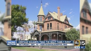 Heritage Square Victorian Era Christmas Tours at the Rosson House