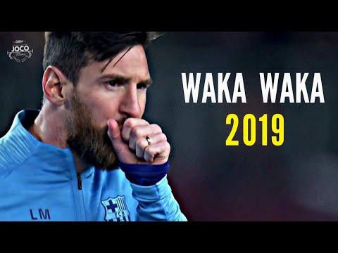 Lionel Messi - Waka Waka   Skills \u0026 Goals   2018/2019   HD