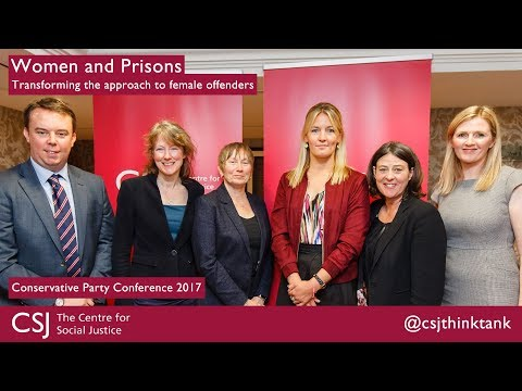 Women and Prisons: Transforming the approach to female offenders at #CPC17
