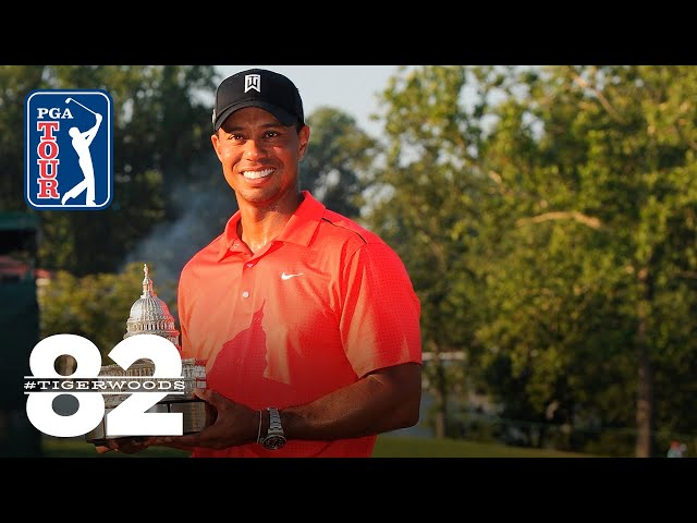 Tiger Woods wins 2012 AT&T National | Chasing 82