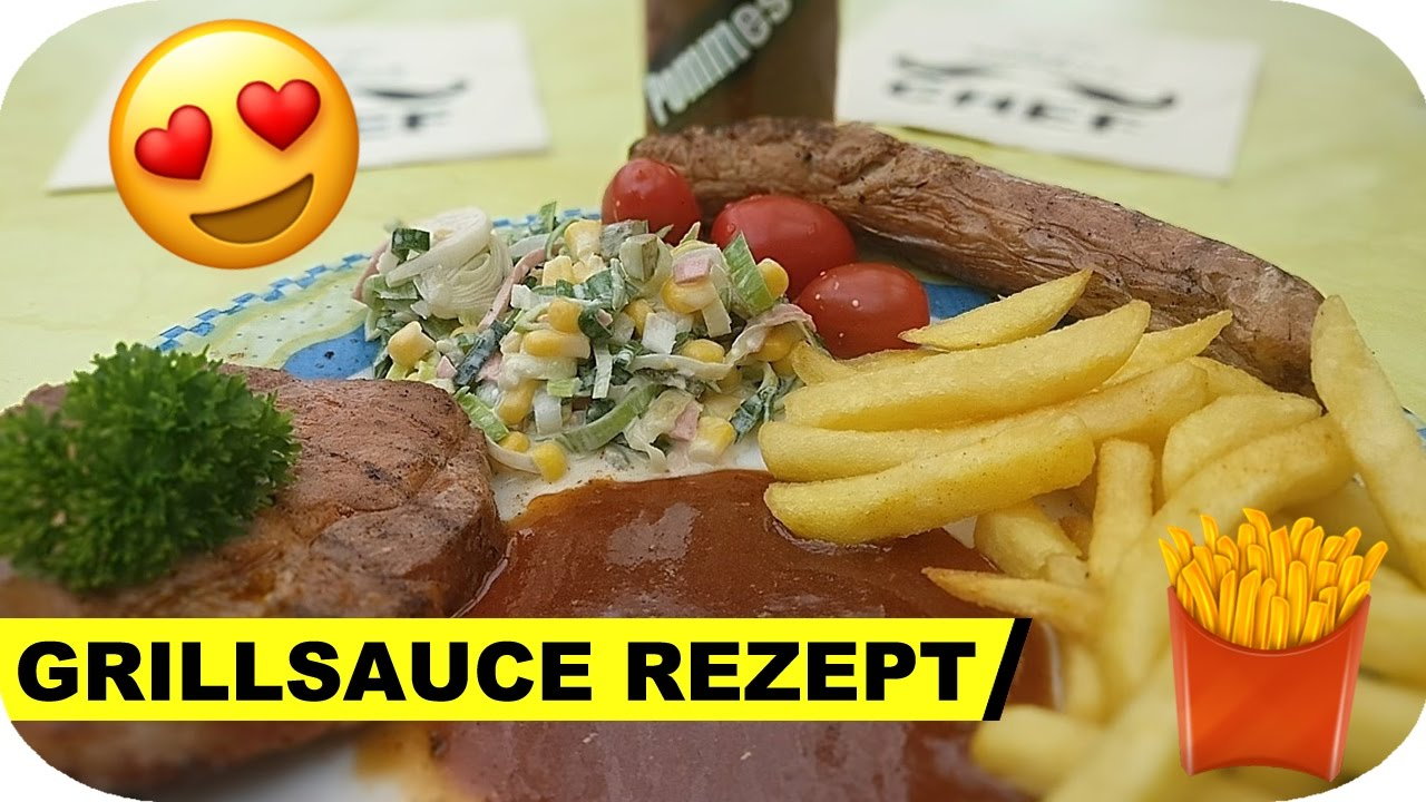 rezept die beste grillsauce der welt by pommes m n youtube. Black Bedroom Furniture Sets. Home Design Ideas