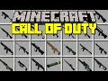 Minecraft CALL OF DUTY MOD! | REALISTIC 3D WEAPONS, GUNS, SNIPERS, & MORE! | Modded Mini-Game