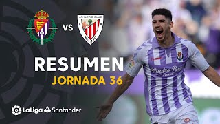 Resumen de Real Valladolid vs Athletic Club (1-0)