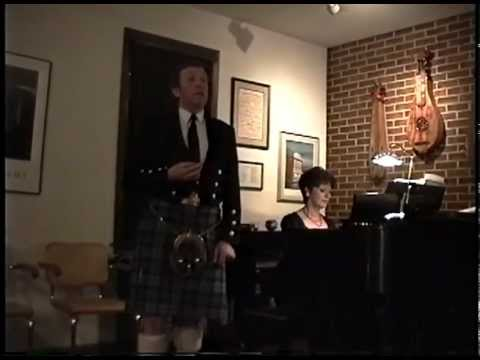 Andrew Fairley sings Robert Burns