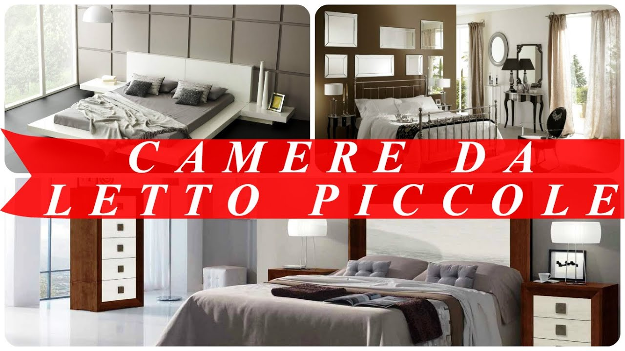 Camere da letto piccole youtube for Camere da letto made in italy