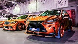 Шедевры авто тюнинга 2017 на Auto Tuning Show