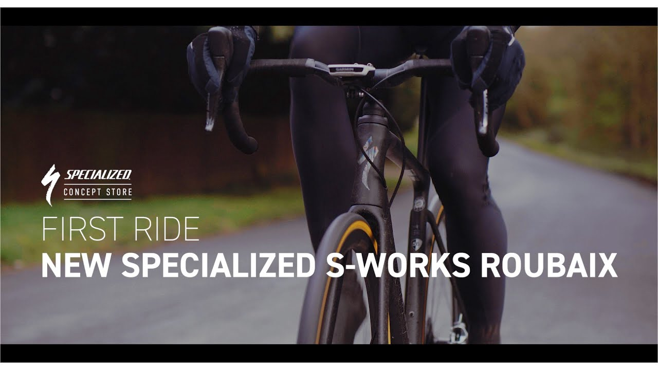 42b48247843 The All-New 2020 Specialized S-Works Roubaix - First Ride - YouTube