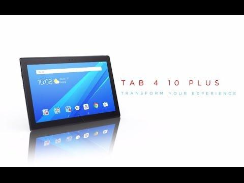 Lenovo Tab 4 10 Plus Product Tour