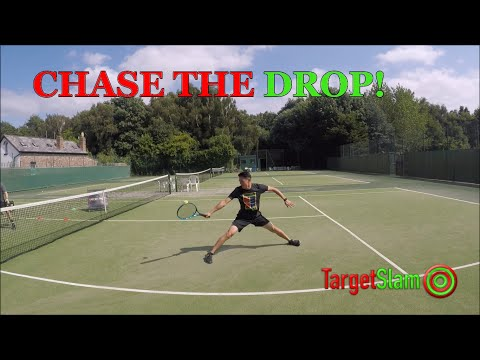 Chase the Drop - FUN TENNIS SPEED DRILL!