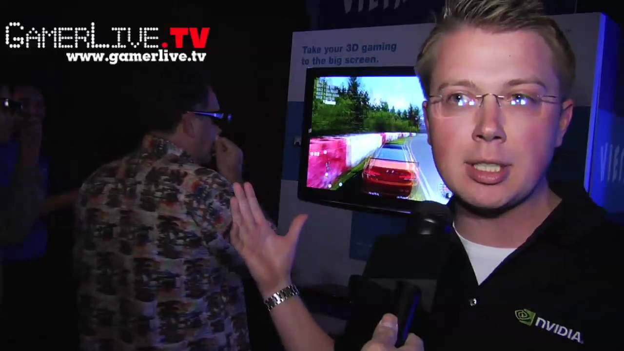 3dtv-play_NVIDIA 3DTV Play First Look Preview with Panasonic 3D TVs - YouTube