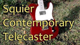 Fender Squier Contemporary Telecaster HH (Обзор)