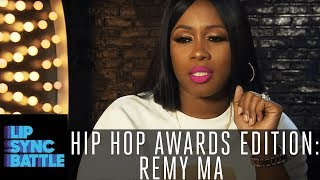 Remy Ma Says Her Competition Is Jay Pharoah | Lip Sync Battle: Hip-Hop Awards Edition