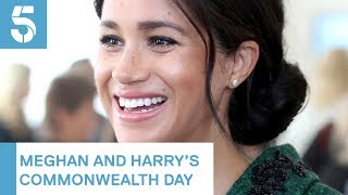 Meghan Markle and Prince Harry visit Canada House | 5 News
