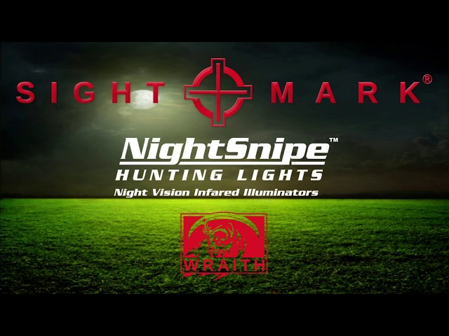 Sightmark Wraith and NightSnipe NS400 Infrared (IR) Illuminator