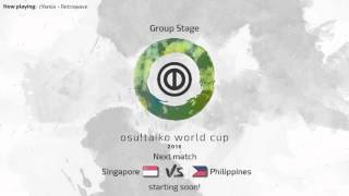 Osu Taiko World Cup 2016 Group Stage