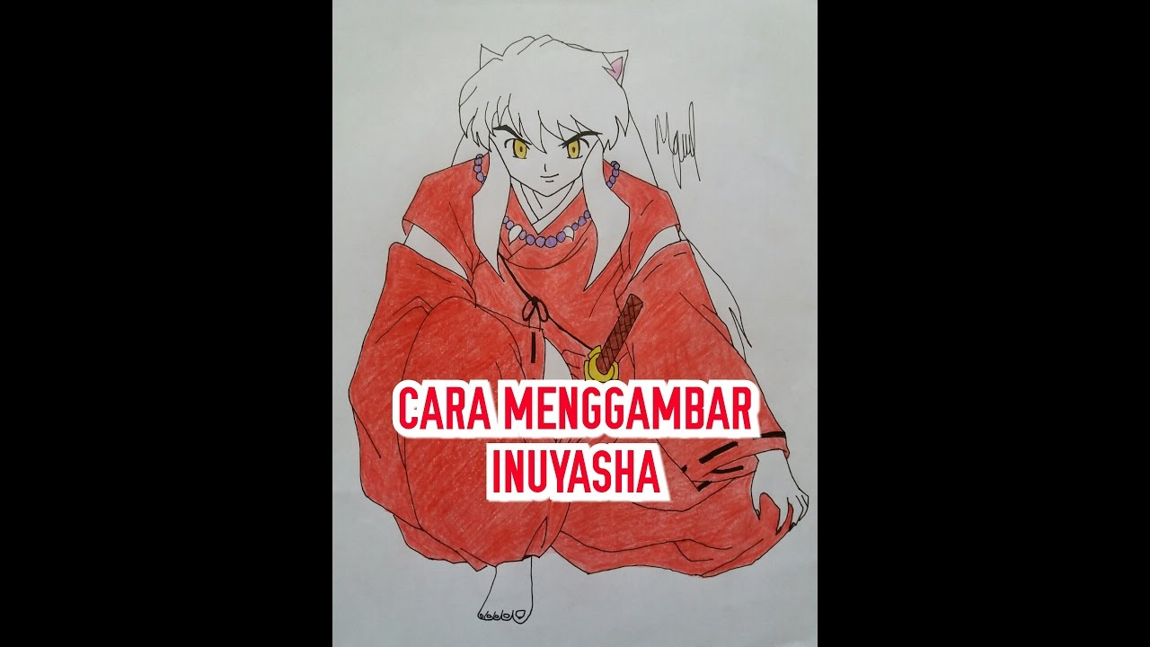 By step drawing tutorial on how to draw kagome higurashi from inuyasha - How To Draw Inuyasha