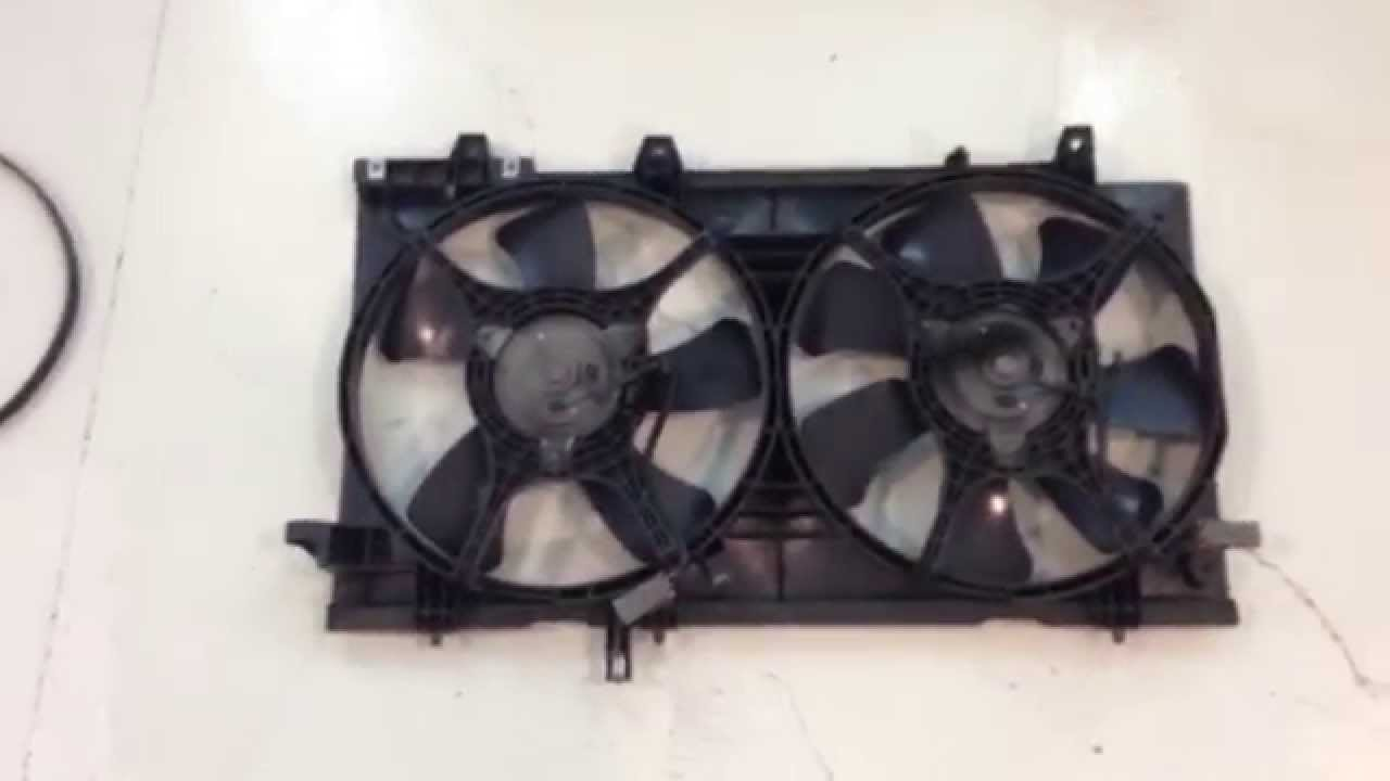How To Subaru Forester Radiator Fan Removal Youtube