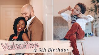 VALENTINE'S DAY & HIS 5th BIRTHDAY *LOCKDOWN EDITION*  | The Adanna & David Family