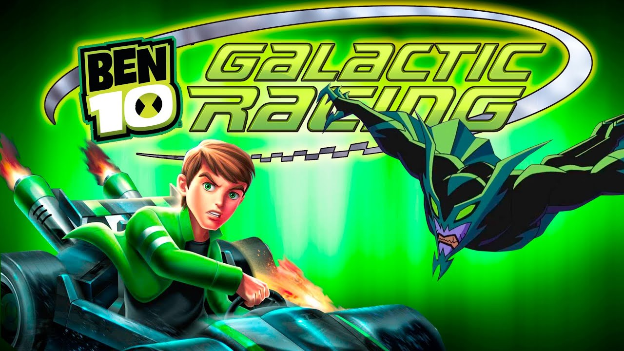 Ben 10 Galactic Racing Gameplay Full Story English Games