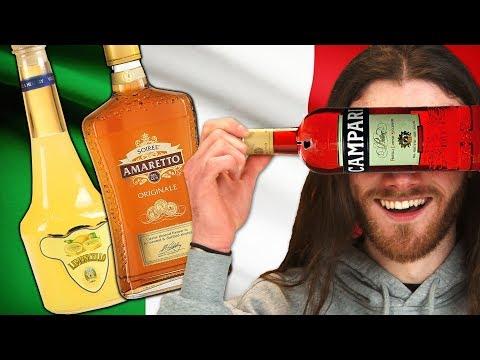 Irish People Try Italian Alcohol