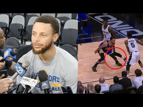 "Steph Curry CALLS OUT Dewayne Dedmon Over Cheap Shot to the Knee: ""It Was a Dirty Play"""
