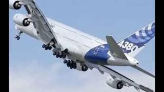 Airbus A380 - extreme slow take off !!