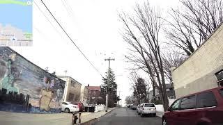 DRIVING City Island, Island in the Bronx, New York 4K & GPS