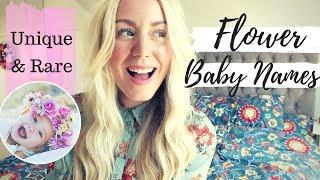 Unique & Rare Flower Baby Names for Boys and Girls | SJ STRUM