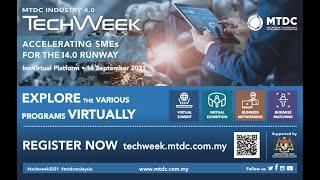 MTDC TechWeek 14 September 2021