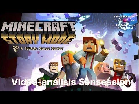 Minecraft Story Mode Análisis Sensession