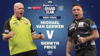 2019 Grand Slam of Darts  Semi Final  van Gerwen vs Price