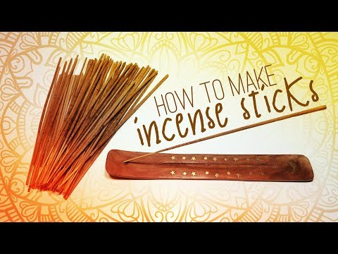 How To Make Incense Sticks – Powerful And Long Lasting