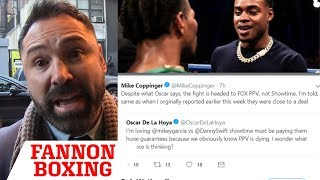 "ERROL SPENCE  VS PORTER ON ""SHOWTIME"" DISSED BY OSCAR...GETS HIS FACTS CHECKED"