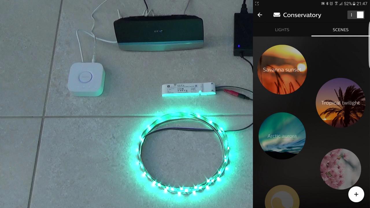 Philips Hue Led Strip.Amazon Echo With Inexpensive Colour Leds And Philips Hue Bridge