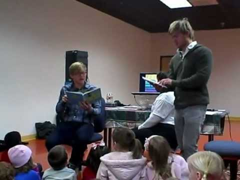 "Disney Channel Stars Doug and Chris Brochu reading ""Max and Indie Come Home"""