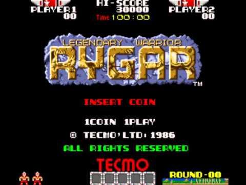 Rygar Arcade Full BGM OST Music BSO