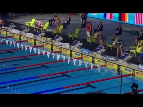 Men's 100m medley Final Fina World Championships Windsor 2016