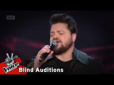 Αναστάσιος Παπαναστασίου - Αν μου τηλεφωνούσες | 14 o Blind Audition | The Voice of Greece